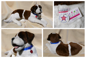 Douglas Cuddle Toys - Riley St. Bernard by The-Toy-Chest