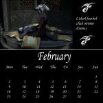 Drow Calendar 09 - Feb by Umrae-Thara