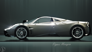 Pigani Huayra by philphilos