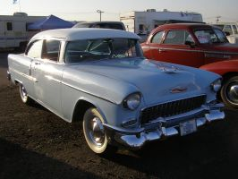 Vintage 55 Chevy by Jetster1