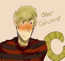 Older Calvin by AiArisu-chan
