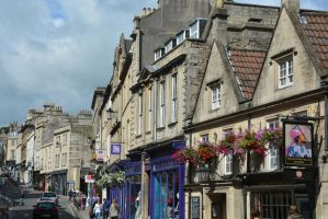 Broad Street, Bath by Irondoors