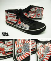 Incubus Chucks by Bobsmade
