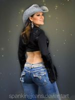 Diana: Jeans and Hat by SpankingJeans