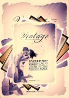 Vintage Party Flyer+LOVESTORY by MuzikizumWeb