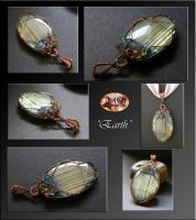 Earth- pendant by mea00