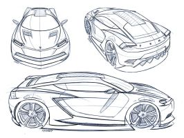 Coupe - Sketches by cananea