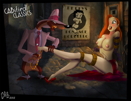C.A.B.ified Classics ~ Ms. Jessica Rabbit by CeeAyBee