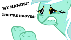Lyra has no hands by NightGreenMagician