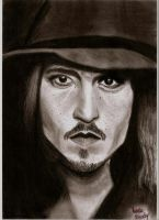 Johnny Depp by bloodyevilfairy