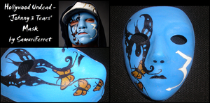 Hollywood Undead - J3T Mask by SamuriFerret
