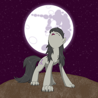 The moon beckons by fonypan
