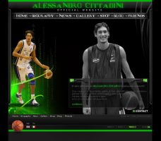 Cittadini Alessandro web site by michan