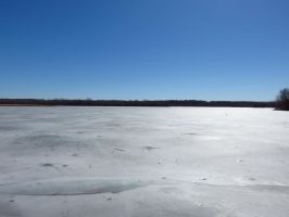 Ice Lake by JewelsStock