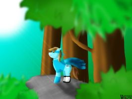 Request: Toongirl. Adventure in the forest. by GraphicBrony