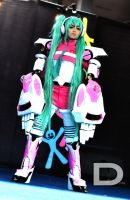 Cosplay-Mechanical Miku by Aira-GeJe