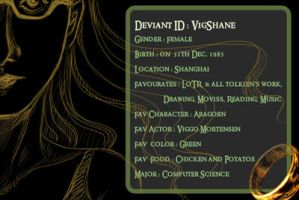 New ID with the One Ring by vigshane