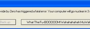 Fatal Error XD by elfofcourage