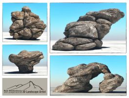 Rock Test by 3DLandscapeArtist