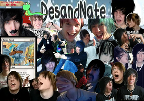 DesandNate collage! by Moonsongstormchild