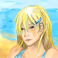 Speed painting - Beach blond by Syke-ko