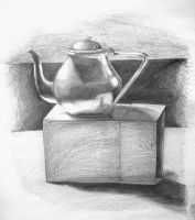 Still life with kettle by akrawczyk83