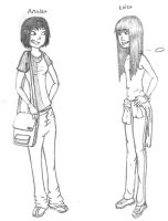 Annika and Luisa by who-said-that