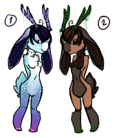 Jackalope adoptables (auction) CLOSED by NoyiiArts