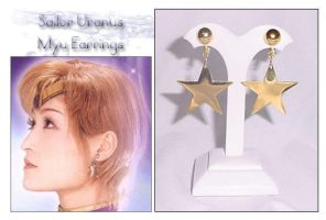 Sailor Uranus Myu Earrings by Topaz-Jewelry