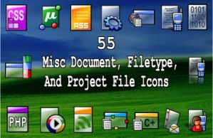 55 misc doc - filetype icons by zman3