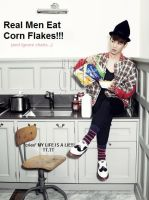 Real Men Eat Corn Flakes by xXCookieApocalypseXx
