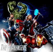 The Avengers Movie 2012 by BrennerRQ7