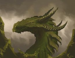 Green Dragon by gabos