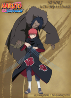 Sasori with 3rd Kazekage by alxnarutoall