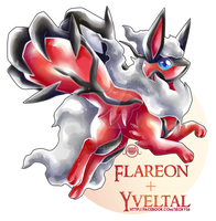 Flareon x Yveltal by Seoxys6