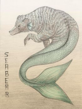 Seabear poster sketch by ConcreteRainx