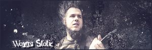 Wayne Static sign by ddpuka