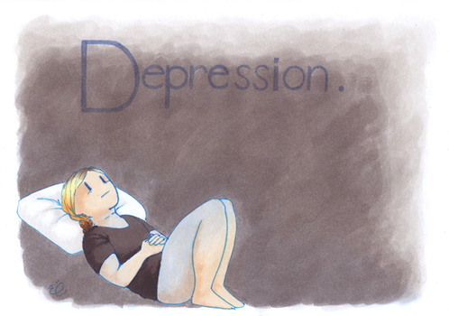 Depression--small by EmmieSensei