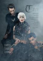 Torn II for Dark Beauty Magazine by Michelle-Fennel
