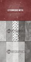 Seamless Letterpress Metal Textures by graphicstrilogy