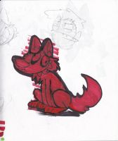 red dog by lucariotails95