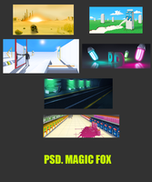 magic fox psd by Magic-Fox