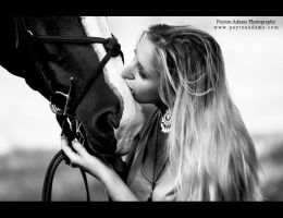 A Girl and Her Horse II by PaytonAdams1