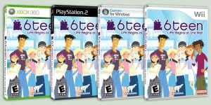 6TEEN The Video Game--FORMATS by daanton