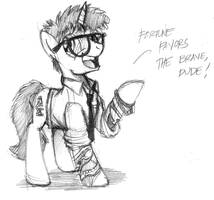 Fortune Favors the Brave by buckweiser
