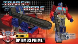 Autobot Leader, Optimus Prime by GeneralSoundwave