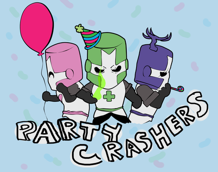 Party Crashers by pigrocket
