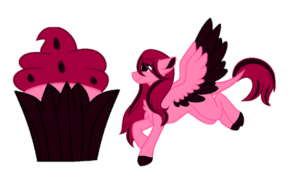 Mysterious Cupcake Theme Pony 5 by OhHoneyBell