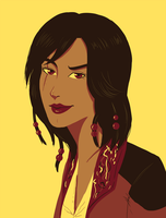 Colour Palette Challenge - Mary Read by Kaschra