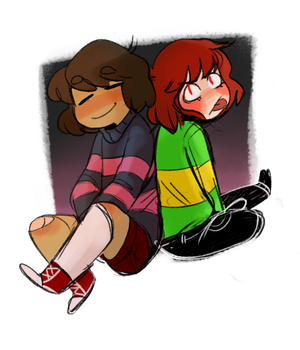 Couple of Kids by TigerPhantom